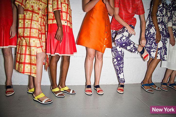 sandály jarní boty 2014