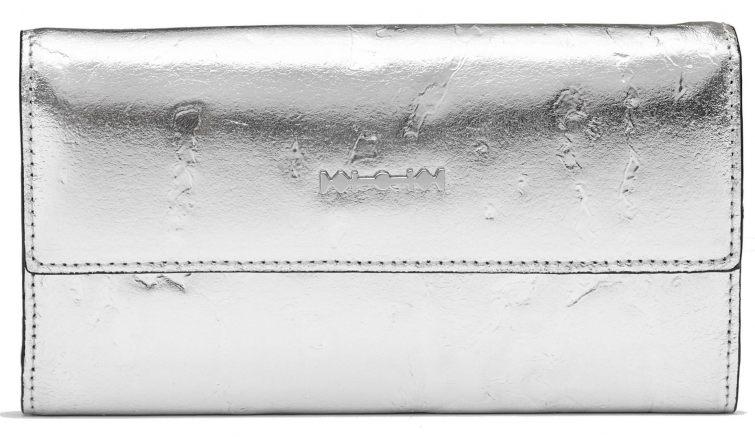 Kabelka Alexander McQueen stříbrná