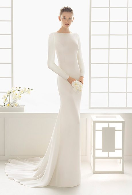 Splývavé šaty pro nevěsty 2016