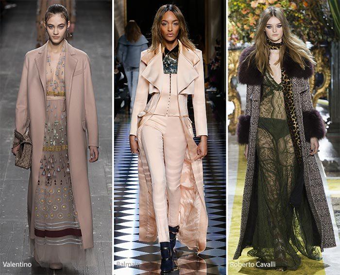 kabáty zimní trendy 2017