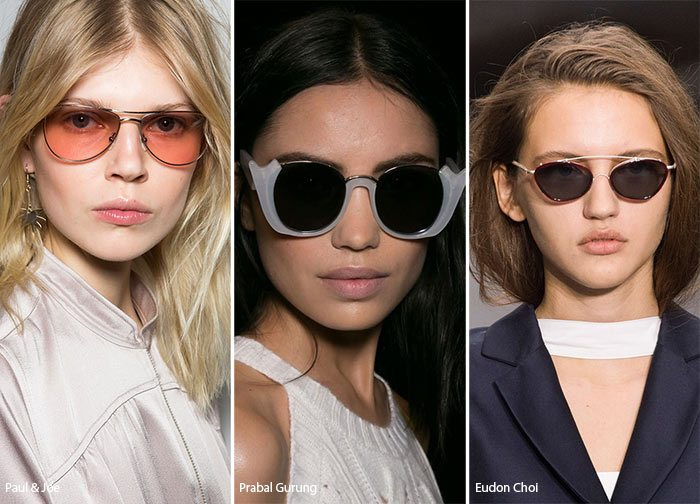 sluneční brýle dámské trendy 2017