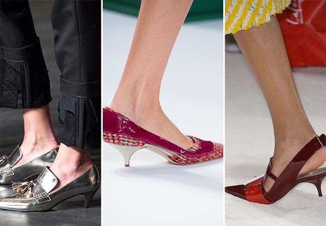 trendy obuv 2015/2016 ženy podzim zima
