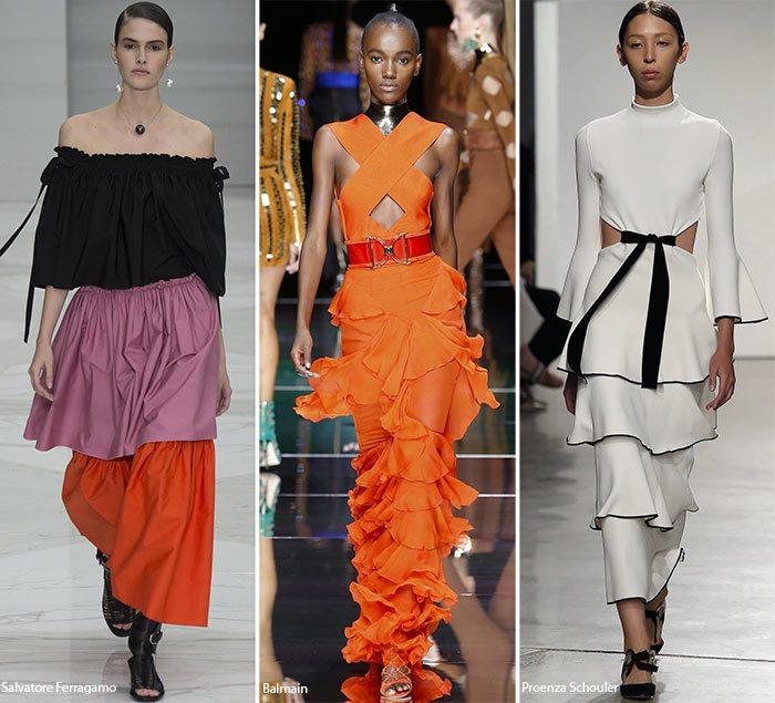 móda ženy trendy jaro léto 2016