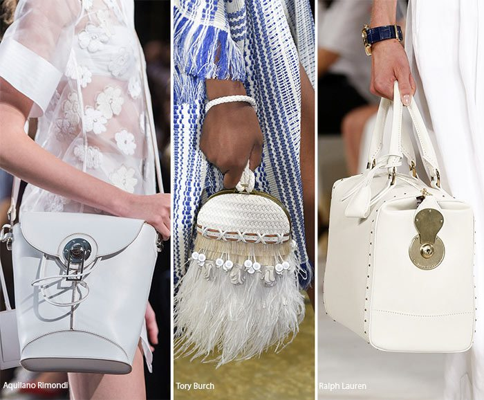 Bílé kabelky