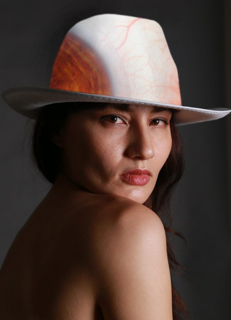 žhavé trendy potisk klobouk
