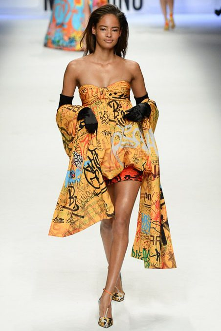 šaty potisky vzory