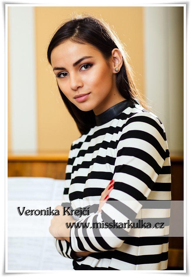 Veronika Krejčí Miss Karkulka 2015