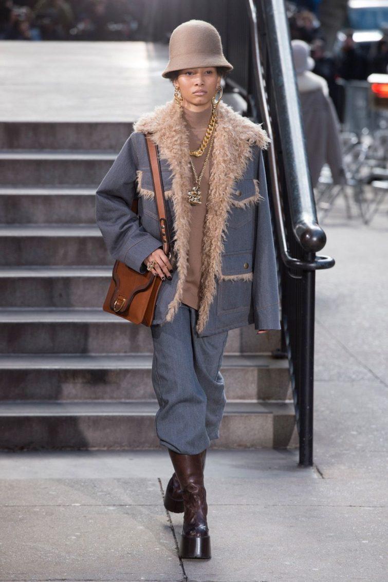 dámská móda podzimní zimná