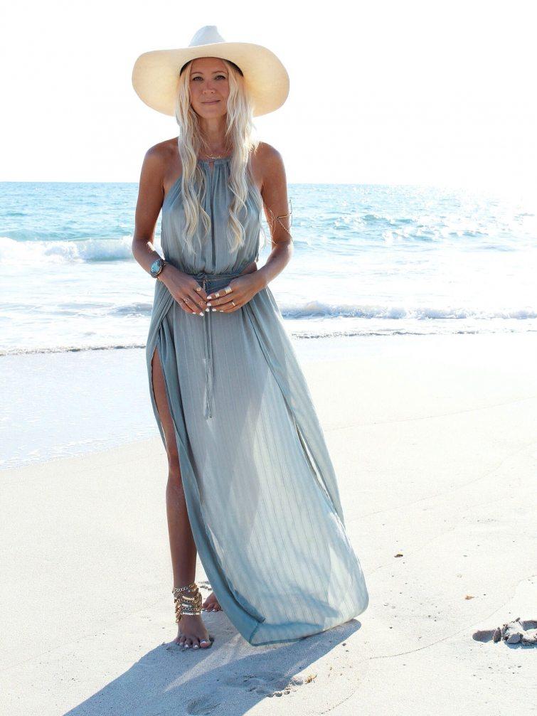 maxi šaty na léto