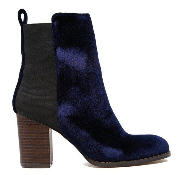 Kotníkové boty s gumou