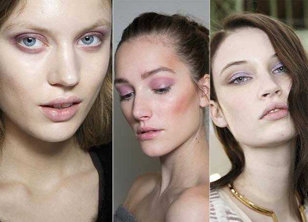 Pastelové líčení očí, trendy líčení, podzim/zima 2014/2015