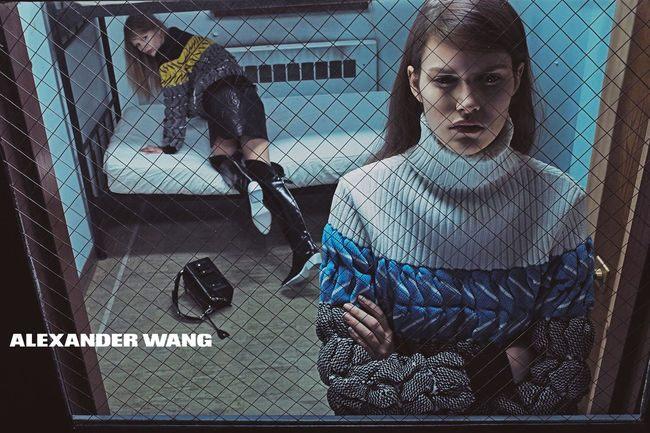 Módní kampaň Alexandr Wang pro kolekce podzim a zima 2014/2015