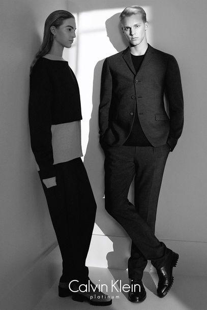 Módní kampaň Calvin Klein pro podzim a zimu 2014/2015