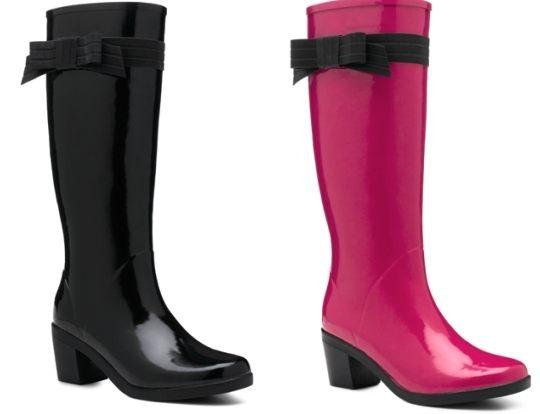 Holínky jako praktické i stylové boty do deště