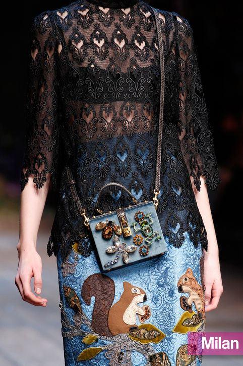 Malá kabelka, trendy barva podzim/zima 2014 2015