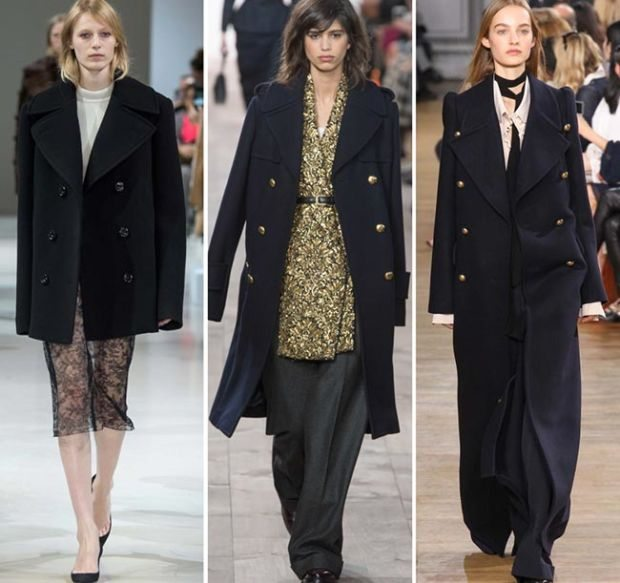 dvouradé kabáty dámské 2016