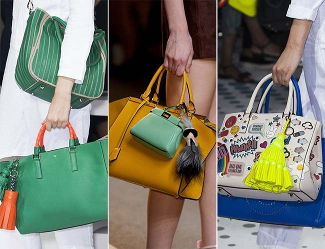 kabelky jaro léto 2015 trendy