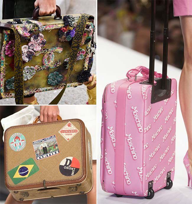 trendy cestovní tašky jaro léto 2015