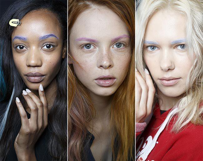 A tip pro vaše obočí – trendy make-up pro jaro/léto 2015