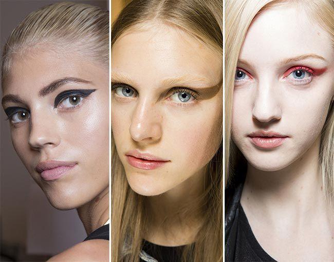 Kočičí líčení trošku jinak aneb trendy make-up pro jaro/léto 2015