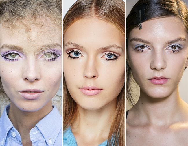 Trendy make-up jaro/léto 2015 pro oči – styl alá Twiggy