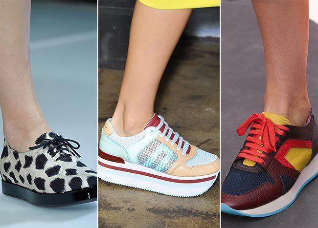 Trendy jaro léto 2015 sportovní boty