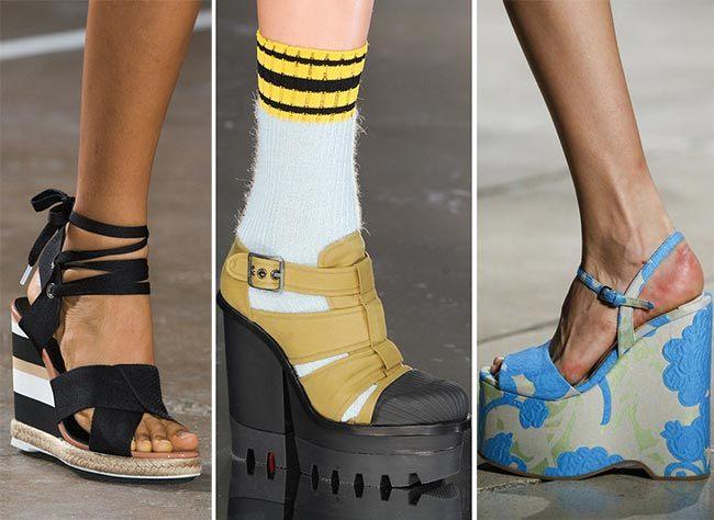 Trendy obuv na jaro, léto 2015