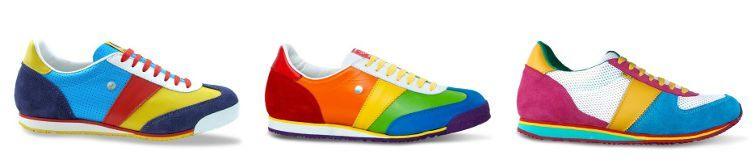 barevné tenisky botas