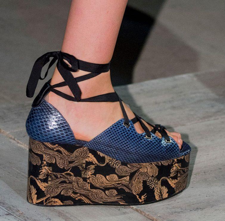 dámské sandály 2017 léto trendy