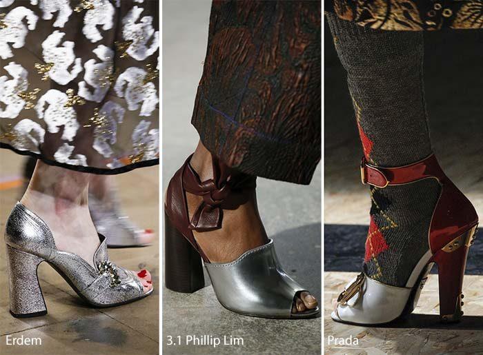 dámská obuv 2017 trendy