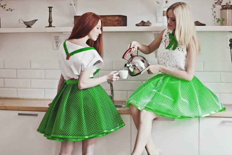 Dyzajn market oblečen do jarní zelené barvy - představí se i značka Tulles by Tess