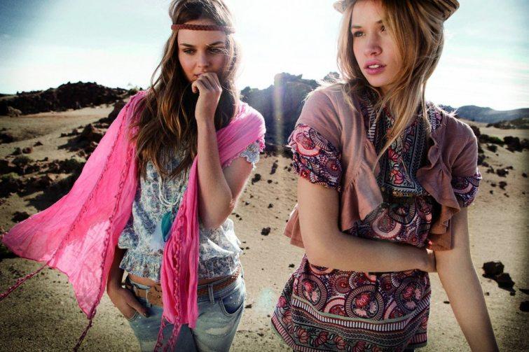 retro móda hippies
