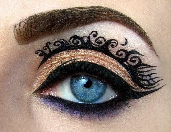 Make-up od Tal Peleg na společenské události