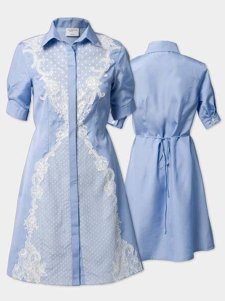 Dámské hedvábné šaty