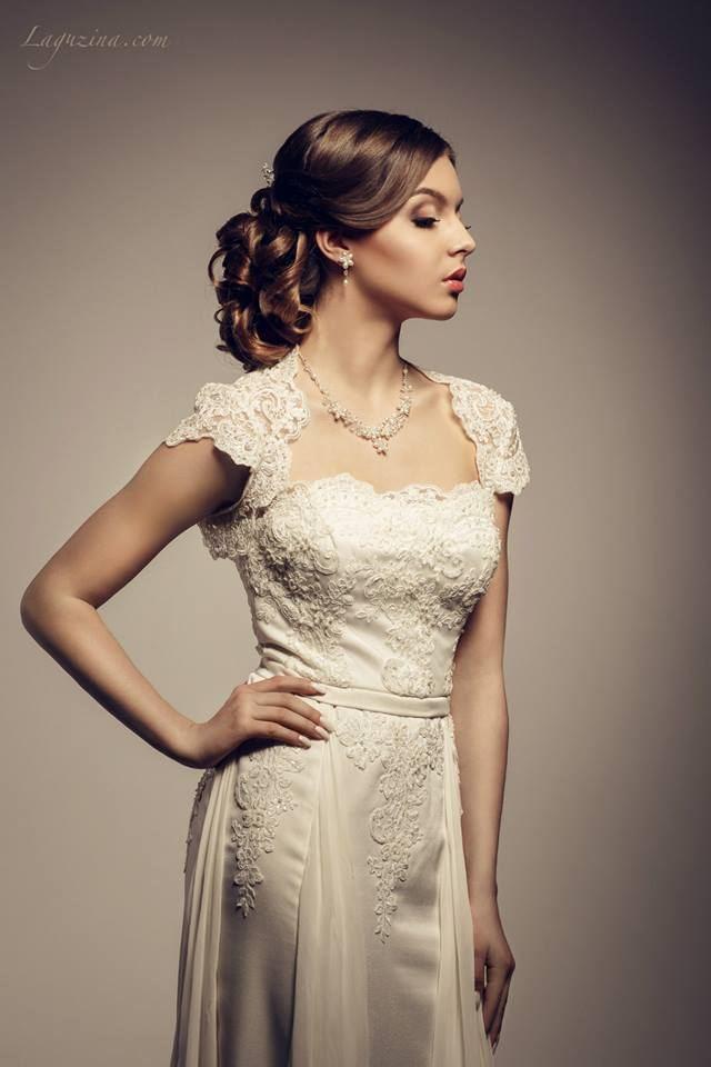 Půvabné svatební šaty