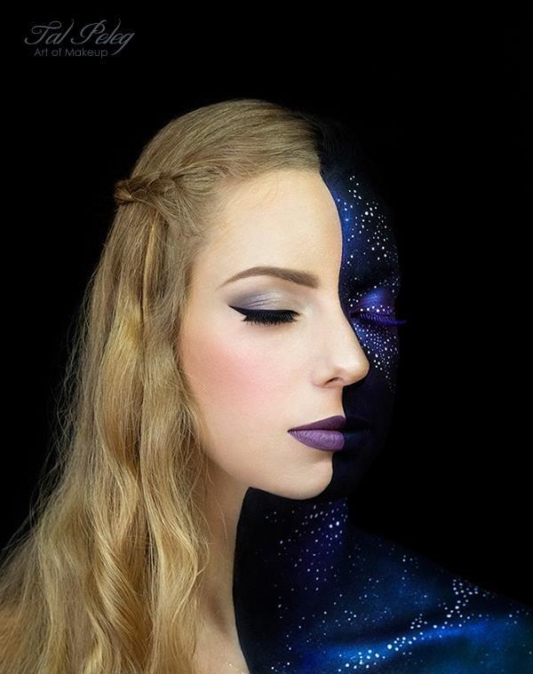 Fantasy art make-up
