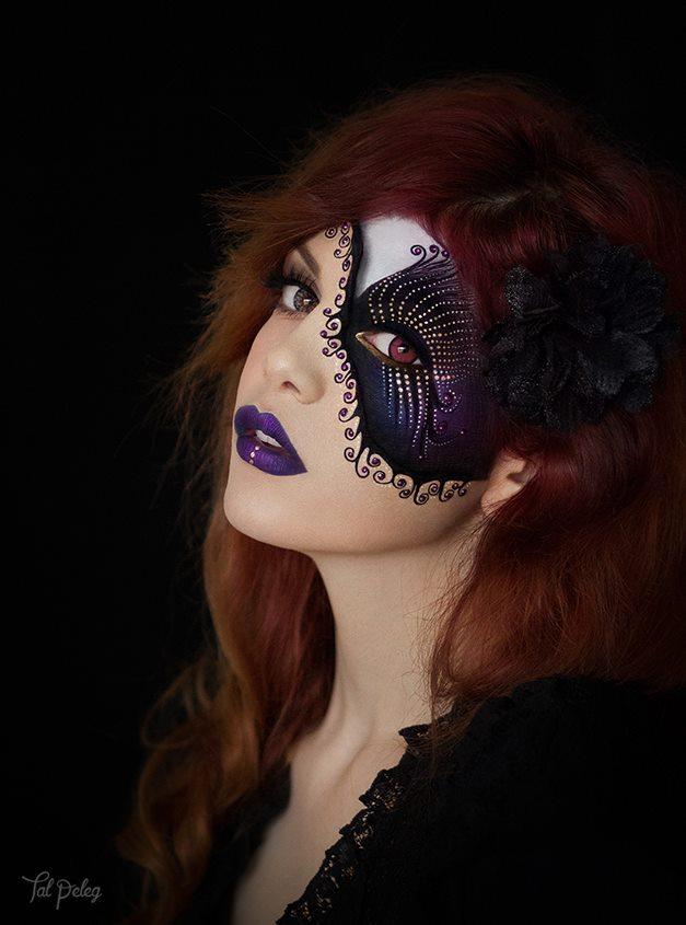 Art make-up od umělkyně Tal Peleg,