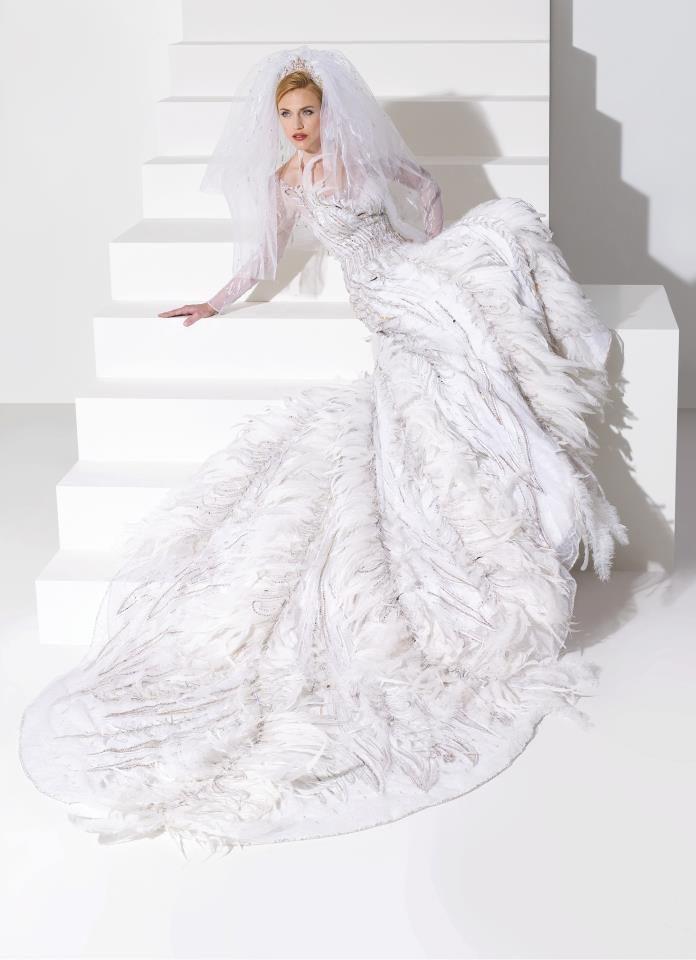 Svatební šaty blanka matragi