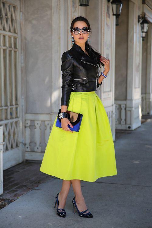 Výrazné barvy oděvů Italek