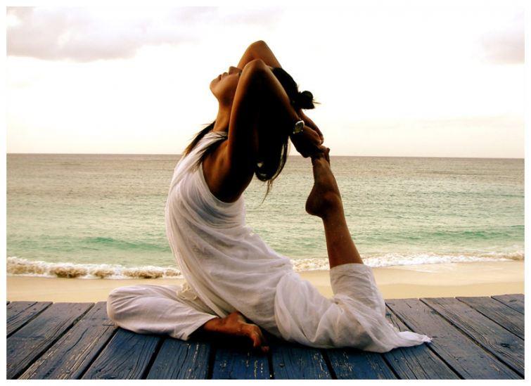 Volné oblečení na jógu
