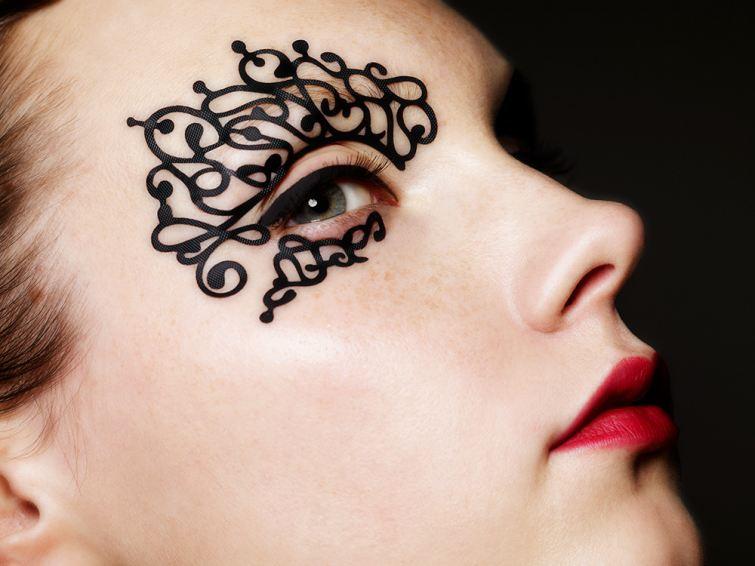 Jemný vzor na krajce Face-Lace