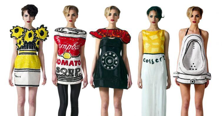 Extravagence pop art móda