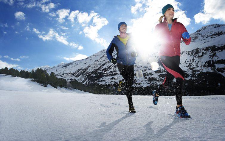 Běhat se dá i v zimě - boty od Salomon