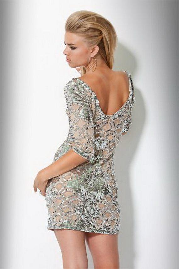 odvážné koktejlové šaty na párty