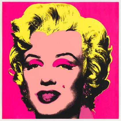 Portrét Marilyn Monroe od Andyho Warhola