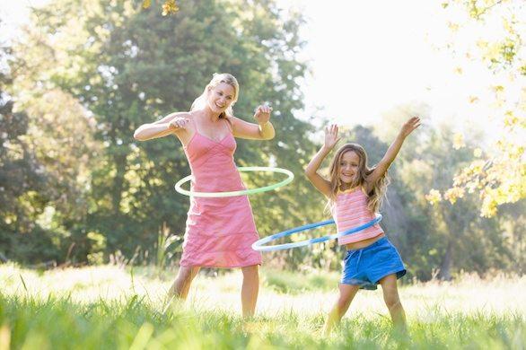 Zábavné cvičení nejen pro děti