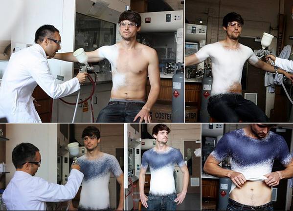 Ukázka jak vzniká tričko