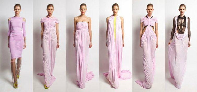 Dámské šaty od Jakuba Polanky