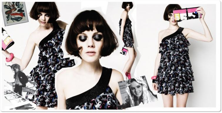 Šaty Pop-art design