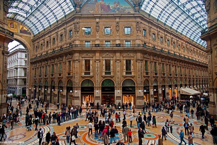 Miláno v Itálii